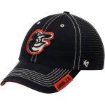 '47 Baltimore Orioles Black Turner Clean-Up Adjustable Hat