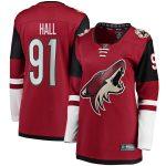 Fanatics Branded Taylor Hall Arizona Coyotes Women's Garnet Home Breakaway Player Jersey