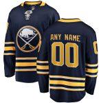 Fanatics Branded Buffalo Sabres Blue Home Breakaway Custom Jersey