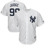 Majestic Aaron Judge New York Yankees White Big & Tall Cool Base Player Jersey