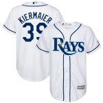 Majestic Kevin Kiermaier Tampa Bay Rays Youth White Home Replica Player Jersey