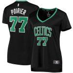 Fanatics Branded Vincent Poirier Boston Celtics Women's Black Fast Break Player Jersey - Statement Edition