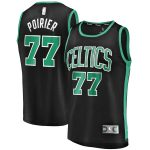 Fanatics Branded Vincent Poirier Boston Celtics Black Fast Break Player Jersey - Statement Edition