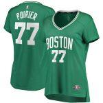 Fanatics Branded Vincent Poirier Boston Celtics Women's Green Fast Break Player Jersey - Icon Edition