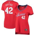 Fanatics Branded Al Horford Philadelphia 76ers Women's Red Fast Break Player Jersey - Statement Edition