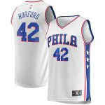 Fanatics Branded Al Horford Philadelphia 76ers Youth White Fast Break Player Jersey - Association Edition
