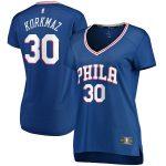 Fanatics Branded Furkan Korkmaz Philadelphia 76ers Women's Royal Fast Break Player Jersey - Icon Edition