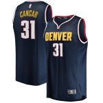 Vlatko Cancar Denver Nuggets Fanatics Branded Youth Navy Fast Break Replica Jersey - Icon Edition
