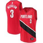 Fanatics Branded CJ McCollum Portland Trail Blazers Red Fast Break Team Replica Jersey - Statement Edition