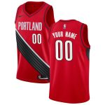 Nike Portland Trail Blazers Red 2019/20 Custom Swingman Jersey - Statement Edition