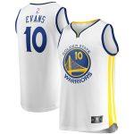 Golden State Warriors Jacob Evans Fanatics Branded White Fast Break Player Jersey - Association Edition