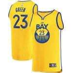 Fanatics Branded Draymond Green Golden State Warriors Gold Fast Break Team Replica Jersey - Statement Edition