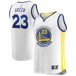 Fanatics Branded Draymond Green Golden State Warriors White Fast Break Player Replica Jersey - Association Edition