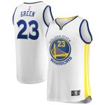Draymond Green Golden State Warriors Fanatics Branded Youth White Fast Break Replica Player Jersey - Association Edition