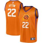 Fanatics Branded DeAndre Ayton Phoenix Suns Orange Fast Break Team Replica Jersey - Statement Edition