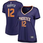 Fanatics Branded Jared Harper Phoenix Suns Women's Purple Fast Break Player Jersey - Icon Edition