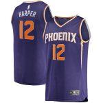 Fanatics Branded Jared Harper Phoenix Suns Purple Fast Break Player Jersey - Icon Edition