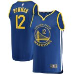 Fanatics Branded Ky Bowman Golden State Warriors Royal Fast Break Player Jersey - Icon Edition