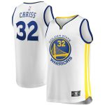 Fanatics Branded Marquese Chriss Golden State Warriors Youth White Fast Break Player Jersey - Association Edition