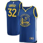 Fanatics Branded Marquese Chriss Golden State Warriors Royal Fast Break Player Jersey - Icon Edition