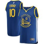 Fanatics Branded Jacob Evans Golden State Warriors Royal Fast Break Player Jersey - Icon Edition