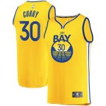Fanatics Branded Stephen Curry Golden State Warriors Gold Fast Break Team Replica Jersey - Statement Edition
