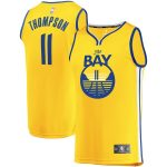 Fanatics Branded Klay Thompson Golden State Warriors Gold Fast Break Team Replica Jersey - Statement Edition