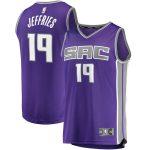 Fanatics Branded DaQuan Jeffries Sacramento Kings Purple Fast Break Player Jersey - Icon Edition