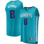 Fanatics Branded Bismack Biyombo Charlotte Hornets Teal Fast Break Player Jersey - Icon Edition