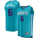 Fanatics Branded Jalen McDaniels Charlotte Hornets Teal Fast Break Player Jersey - Icon Edition