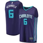 Fanatics Branded Jalen McDaniels Charlotte Hornets Youth Purple Fast Break Player Jersey - Statement Edition