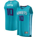 Fanatics Branded Caleb Martin Charlotte Hornets Youth Teal Fast Break Player Jersey - Icon Edition