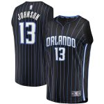 Fanatics Branded BJ Johnson Orlando Magic Youth Black Fast Break Player Jersey - Statement Edition