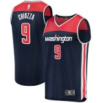 Fanatics Branded Chris Chiozza Washington Wizards Navy Fast Break Player Jersey - Statement Edition
