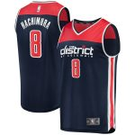 Fanatics Branded Rui Hachimura Washington Wizards Youth Navy Fast Break Replica Player Team Jersey - Statement Edition