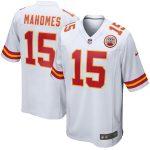 Nike Patrick Mahomes Kansas City Chiefs Youth White Player Game Jersey