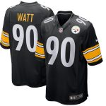 Nike T.J. Watt Pittsburgh Steelers Black Game Jersey
