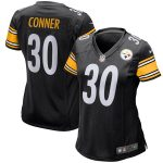 Nike James Conner Pittsburgh Steelers Women's Black Game Jersey
