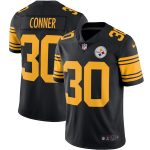 Nike James Conner Pittsburgh Steelers Black Color Rush Vapor Limited Jersey