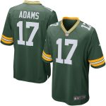 Nike Davante Adams Green Bay Packers Green Team Game Jersey