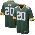 Nike Kevin King Green Bay Packers Green Game Jersey