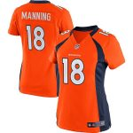 Nike Peyton Manning Denver Broncos Women's Orange Limited Jersey