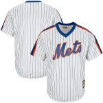 Majestic New York Mets White Big & Tall Cooperstown Replica Cool Base Team Jersey