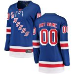 Fanatics Branded New York Rangers Women's Blue Home Breakaway Custom Jersey
