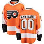 Fanatics Branded Philadelphia Flyers Orange Home Breakaway Custom Jersey