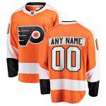 Fanatics Branded Philadelphia Flyers Youth Orange Home Breakaway Custom Jersey