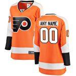 Fanatics Branded Philadelphia Flyers Women's Orange Home Breakaway Custom Jersey