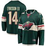 Fanatics Branded Joel Eriksson Ek Minnesota Wild Youth Green Breakaway Player Jersey