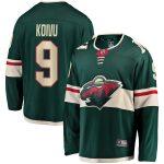 Fanatics Branded Mikko Koivu Minnesota Wild Youth Green Breakaway Player Jersey