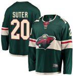 Fanatics Branded Ryan Suter Minnesota Wild Youth Green Breakaway Player Jersey